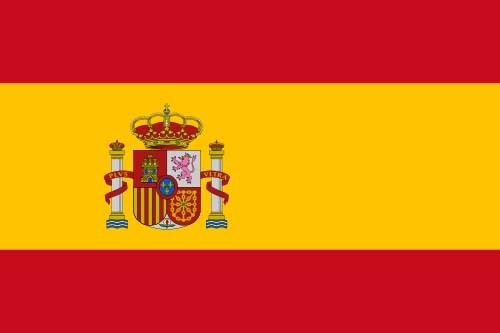 Paket mit 10 Länderflagge Spanien Art. Nr. 0700000034