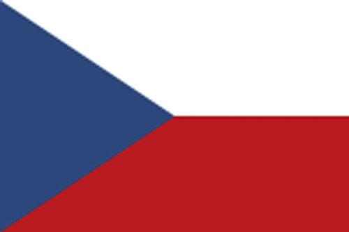 Paket mit 10 Länderflagge Tschechische Republik Art.-Nr. 0700000042