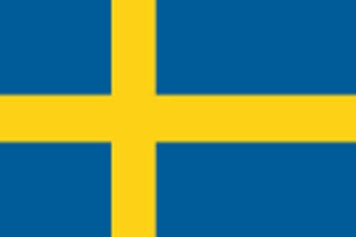 Paket mit 10 Länderflagge Schweden Art.-Nr. 0700000046