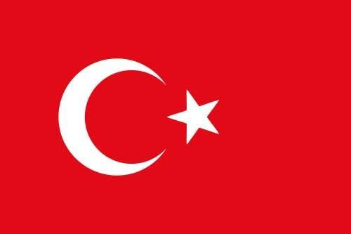 Länderflagge Tuerkei Art.-Nr. 0700000090