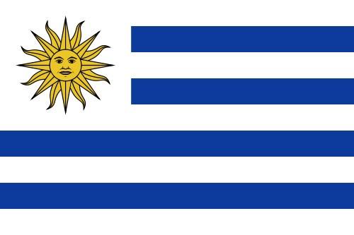 Paket mit 10 Länderflagge Paraguay Art.-Nr. 0700000595