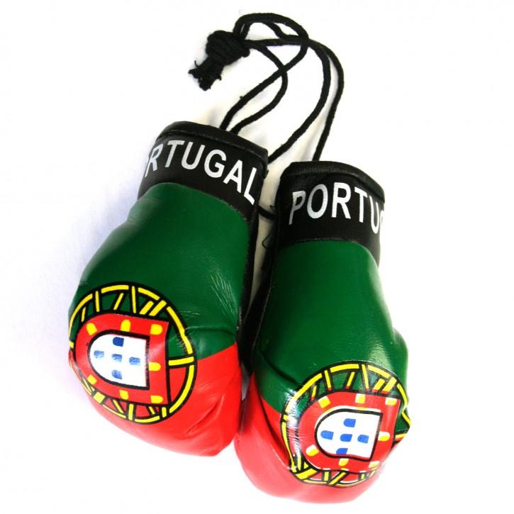 Paket mit 6 Mini Boxhandschuhe Portugal Art.-Nr. 0700160385