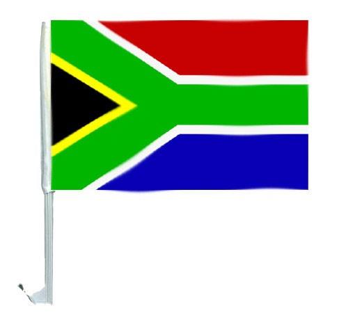 10 Autoflagge Südafrika Art.-Nr. 0700200027