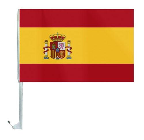 10 Autoflagge Spanien Art.-Nr. 0700200034
