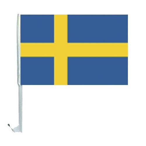 10 Autoflagge Schweden Art.-Nr. 0700200046