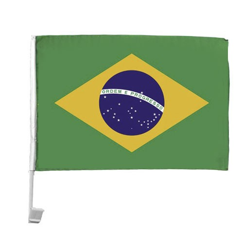 10 Autoflagge Brasilien Art.-Nr. 0700200055