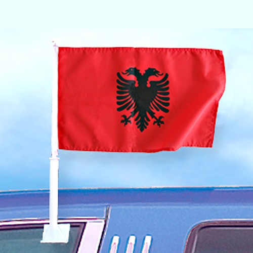 6 Autoflagge Albanien Art.-Nr. 0700200355a
