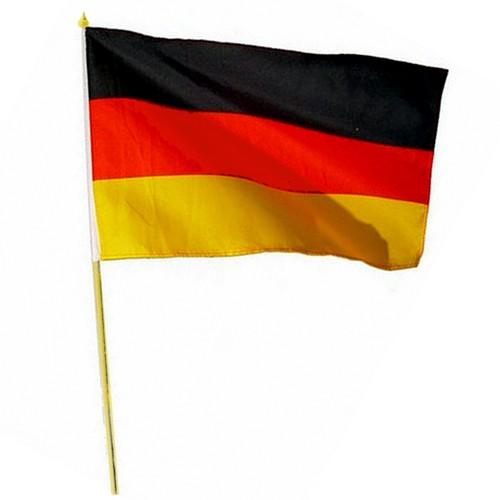 Paket mit 12 Stockflaggen Deutschland Art.-Nr. 0700201049