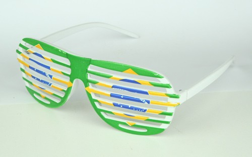 Paket mit 12 Fan Brillen Brasilien Art.-Nr. 0700423055