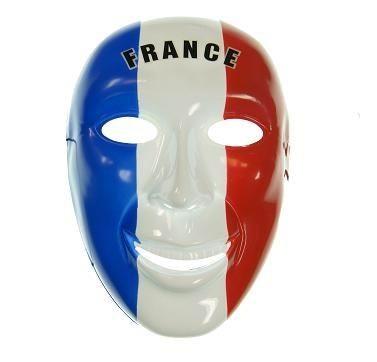 Fan--Maske Frankreich Art. Nr. 0700425033