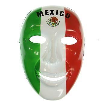 Fan-Maske Mexiko Art. Nr. 0700425052