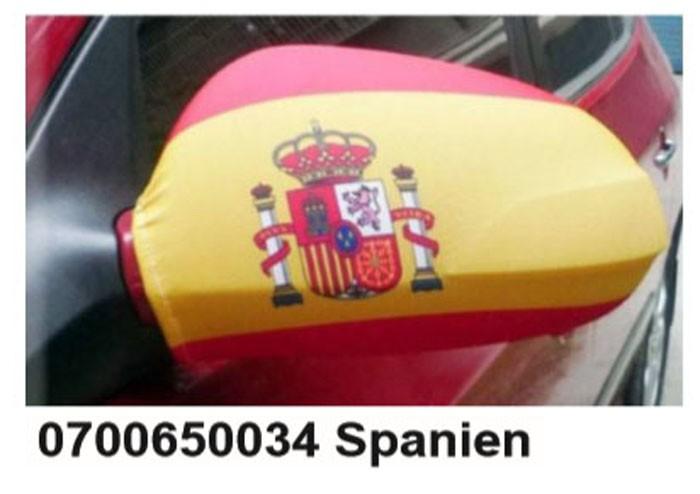 Paket mit 10 Autospiegeflaggen Spanien Art.-Nr. 0700650034