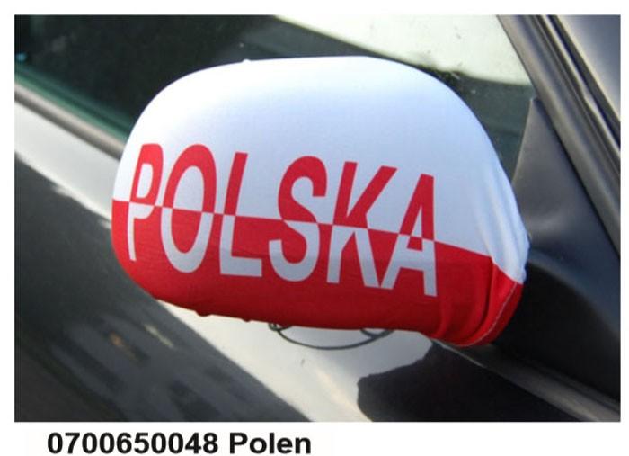 Paket mit 10 Autospiegeflaggen Art.-Nr. 0700650048