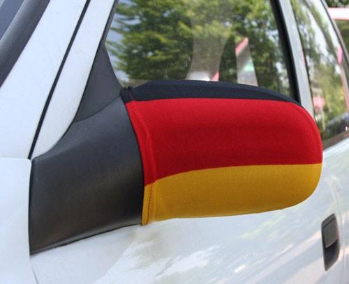 Paket mit 10 Autospiegeflaggen Deutschland Art.-Nr. 0700650049