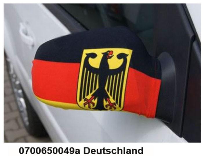 Paket mit 10 Autospiegeflaggen Art.-Nr. 0700650049a