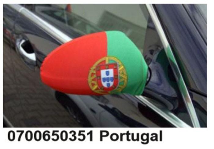 Paket mit 10 Autospiegeflaggen Portugal Art.-Nr. 0700650351