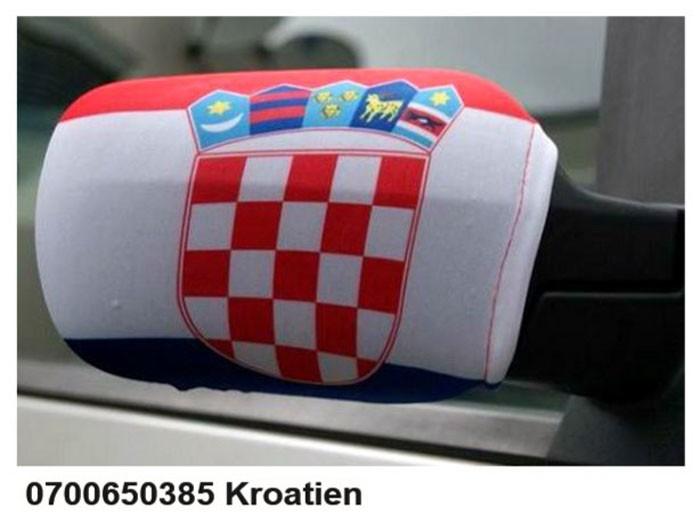 Paket mit 10 Autospiegeflaggen Art.-Nr. 0700650385