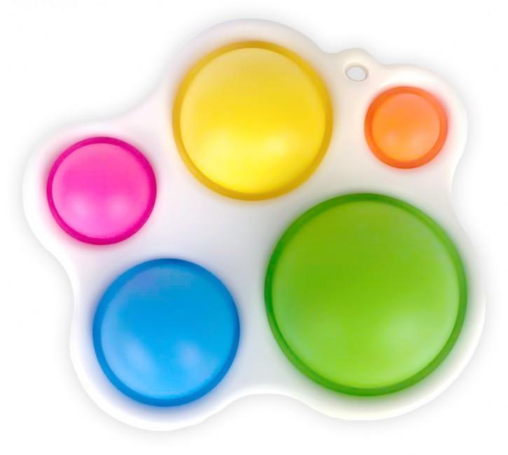 Mini Push Pop - Pop it - Schlusselanhänger -  Spielzeug - Toy - Antistress - 3 Stück