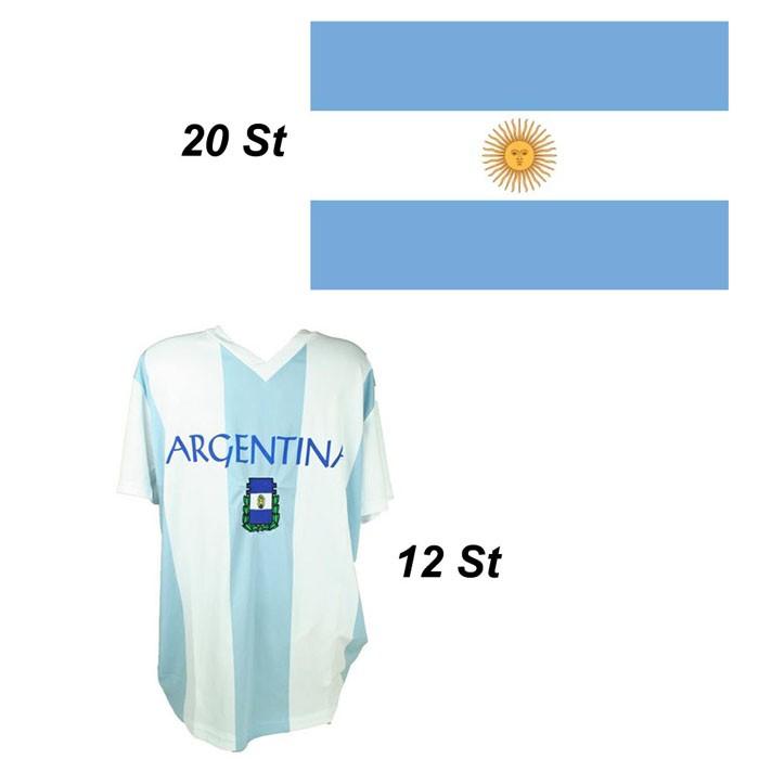 Paket mit 32 Argentinien Fanartikel Art.-Nr. Angebotargentinien
