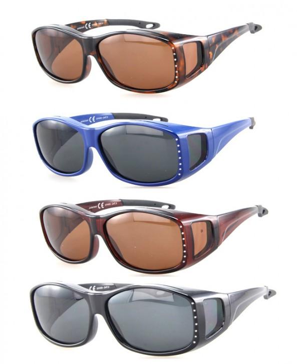 -Paket mit 12 Polarisierte Überziehbrillen Sonnenbrillen Art.-Nr. BM5011A