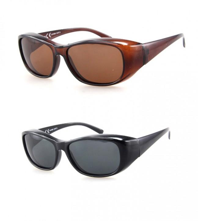 -Paket mit 12 Polarisierte Überziehbrillen Sonnenbrillen Art.-Nr. BM5017A