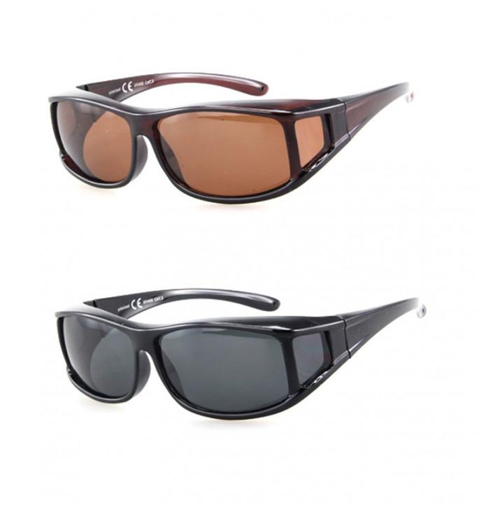 -Paket mit 12 Polarisierte Überziehbrillen Sonnenbrillen Art.-Nr. BM5018A