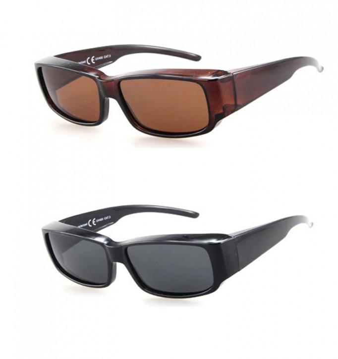 -Paket mit 12 Polarisierte Überziehbrillen Sonnenbrillen Art.-Nr. BM5025