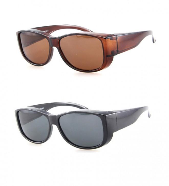 -Paket mit 12 Polarisierte Überziehbrillen Sonnenbrillen Art.-Nr. BM5026