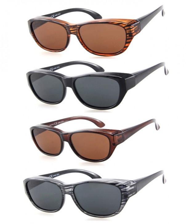-Paket mit 12 Polarisierte Überziehbrillen Sonnenbrillen Art.-Nr. BM5027