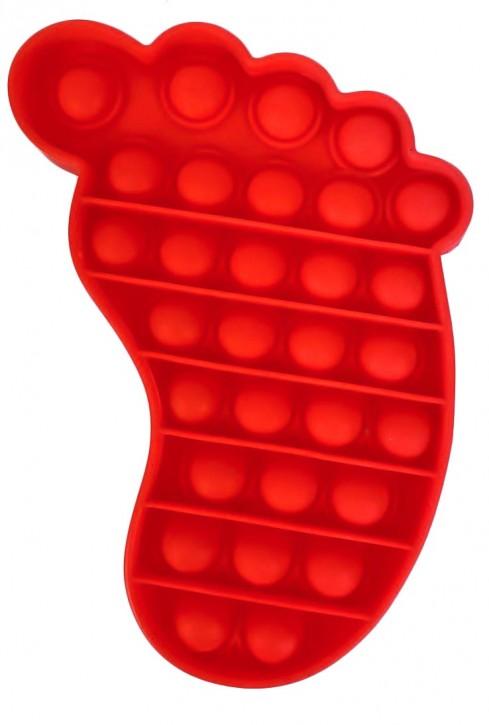 Push Pop - Pop it - Fuß Rot - 3 Stück