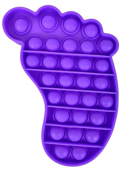 Push Pop - Pop it - Fuß Lila - 3 Stück