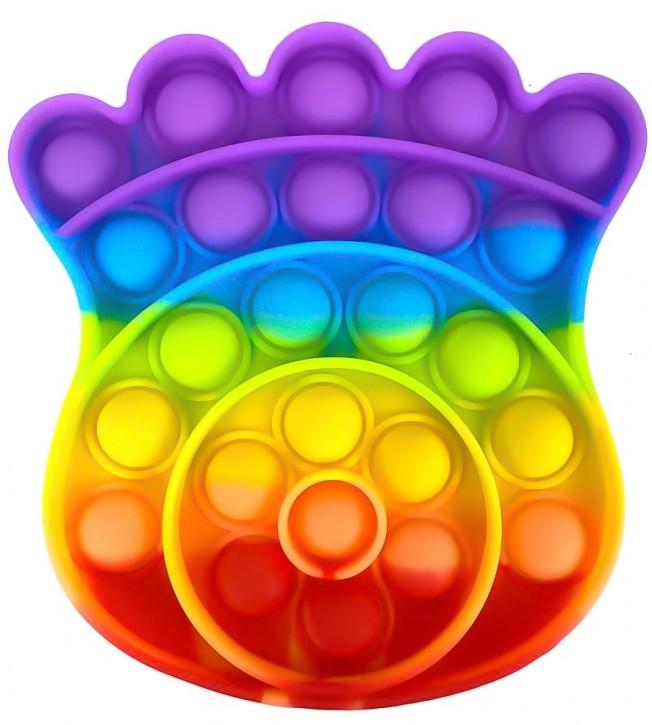 Push Pop - Pop it -  Mehrfarbig - 3 Stück