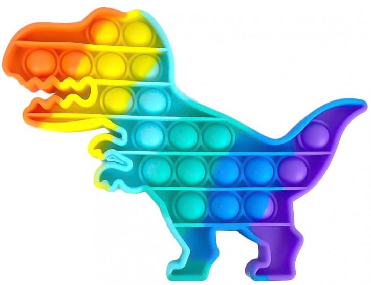 Push Pop - Pop it - Dinosaurier Mehrfarbig - 3 Stück