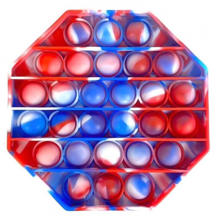 Push Pop - Pop it - Achteck Mehrfarbig - 3 Stück