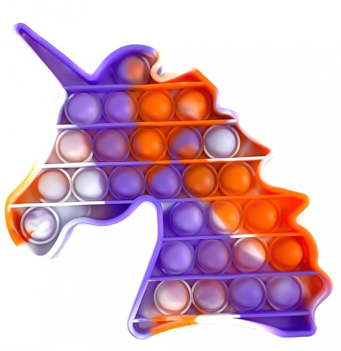 Push Pop - Pop it - Pferd Mehrfarbig - 3 Stück
