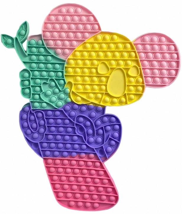 Push Pop XXXL 40cm - Pop it - Fidget - Koala Mehrfarbig - 3 Stück