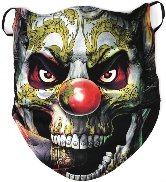 Gesichtsmaske mit Ohrschlaufe , Bandana - Glow In The Dark