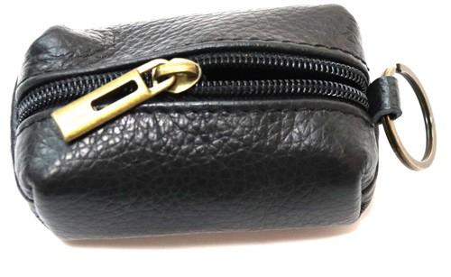 Schlüsselanhänger mit  Mini  Tasche aus Leder  Art.-Nr. MM02-0001