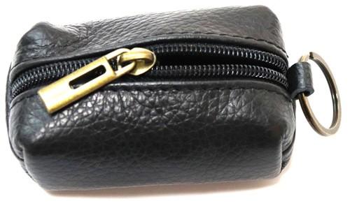 Schlüsselanhänger mit  Mini  Tasche aus Leder  Art.-Nr. MM02-001