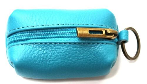 Schlüsselanhänger mit  Mini  Tasche aus Leder  Art.-Nr. MM02-201