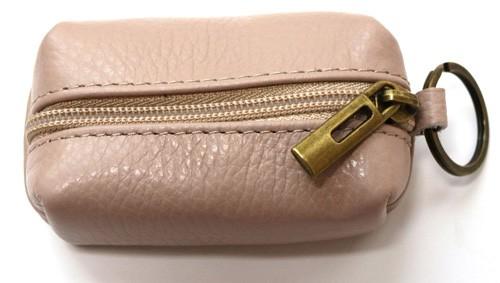 Schlüsselanhänger mit  Mini  Tasche aus Leder  Art.-Nr. MM02-303