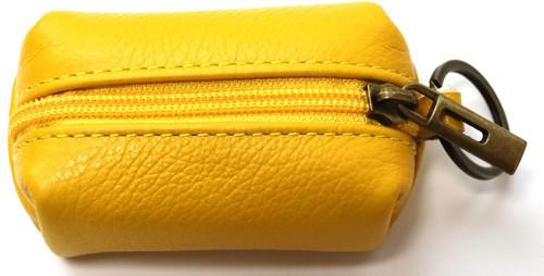 Schlüsselanhänger mit  Mini  Tasche aus Leder  Art.-Nr. MM02-700