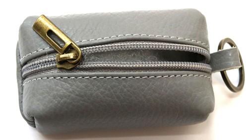 Schlüsselanhänger mit  Mini  Tasche aus Leder  Art.-Nr. MM02-900