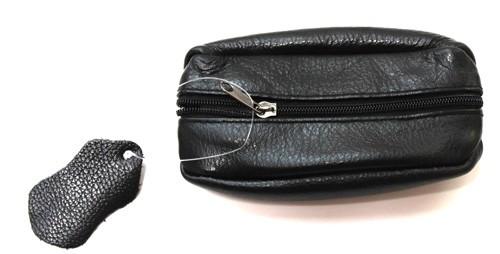 Schlüsselanhänger mit  Mini  Tasche aus Leder  Art.-Nr. MM03-001