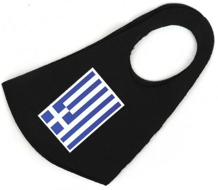 """Gesichtsmaske Flagge """"Griechenland"""" Artnr. SM-1099-001"""