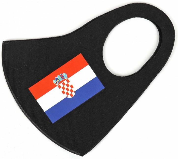 """Gesichtsmaske Flagge """"Kroatien"""" Artnr.SM-1100-001"""