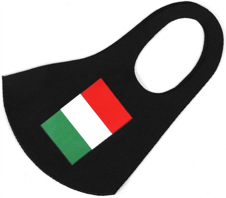 """Gesichtsmaske Flagge """"Italien"""" Artnr.SM-1101-001"""
