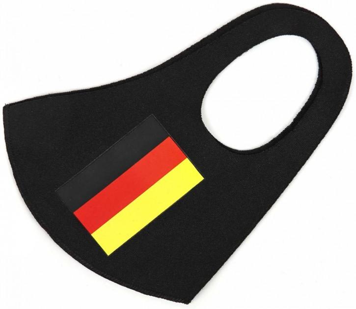 """Gesichtsmaske Flagge """"Deutschland"""" Artnr.SM-1102-001"""