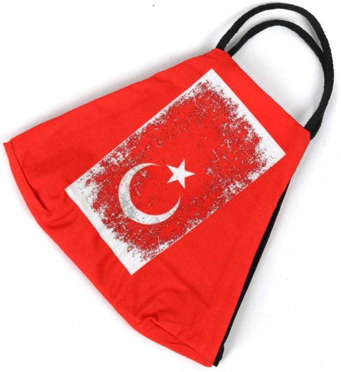 "Gesichtsmaske Flagge ""Türkei"" Artnr. SM-1104-200"