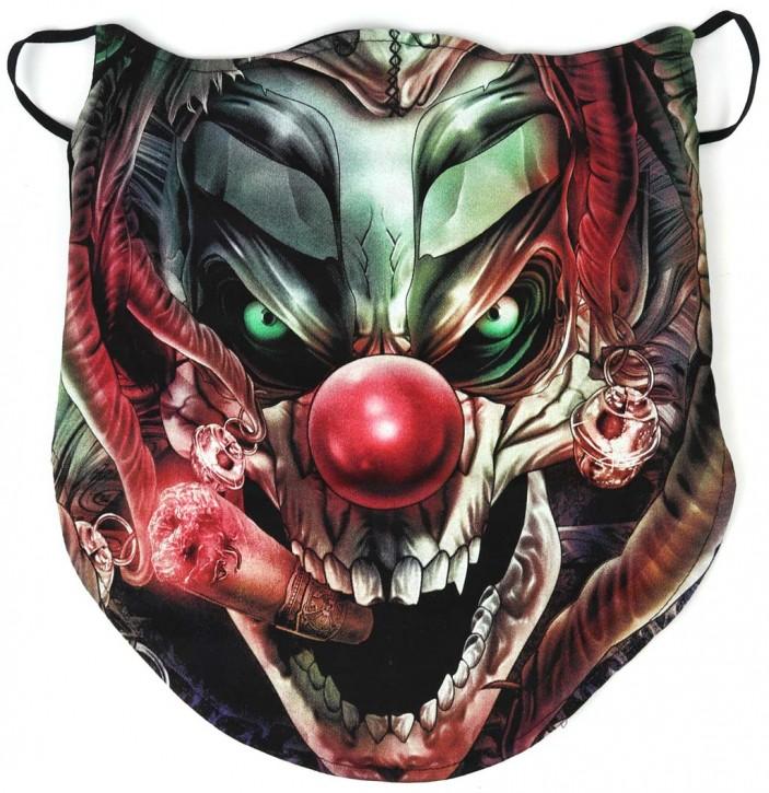 Gesichtsmaske mit Ohrschlaufe, Bandana - Glow In The Dark - SM-BUFF-D-00866